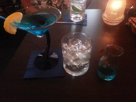 The Ebb Tide: Captain Caleb Chase martini.. yum!