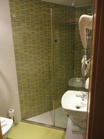 Apart-Suites Hostemplo : バスルーム。狭いです