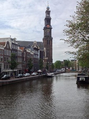 Bees B&B: Prinsengracht and Westerkerk