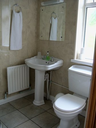 White Lodge Trim: Bathroom