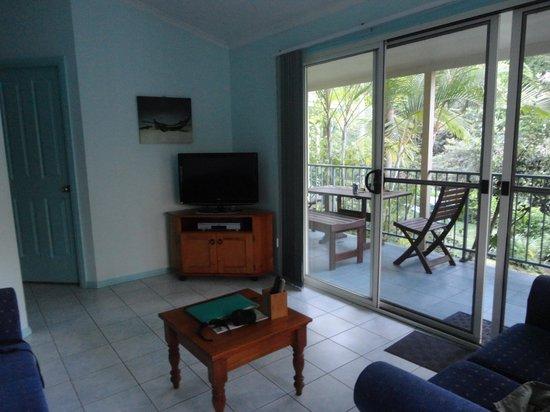 Tropic Oasis Holiday Villas : Nice balcony