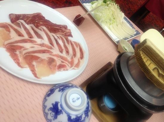 Joshinnosato Hibikino: 夕飯