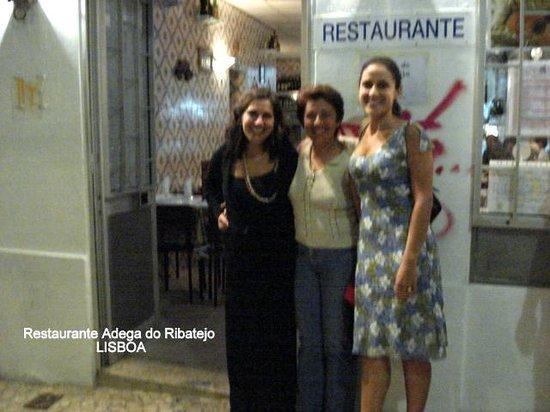 Restaurante Adega do Ribatejo : entrada do Adega do Ribatejo