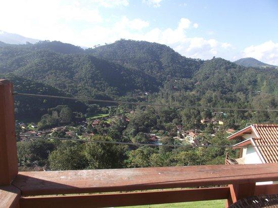 Bella Maua Pousada: Vista para a vila de Maringá