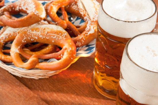 Bavarian Beerhouse: ice cold beer & crispy pretzels