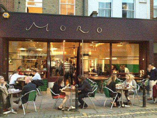 Moro Restaurant: Moro, situated on the pedestrianised Exmouth Market