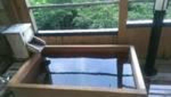 部屋 部屋 露天風呂 : 部屋露天風呂からの景色 ...