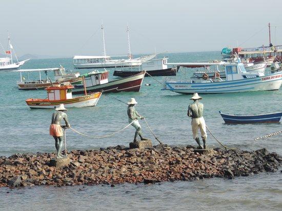 Pousada Baia Bonita: 3 pescadores