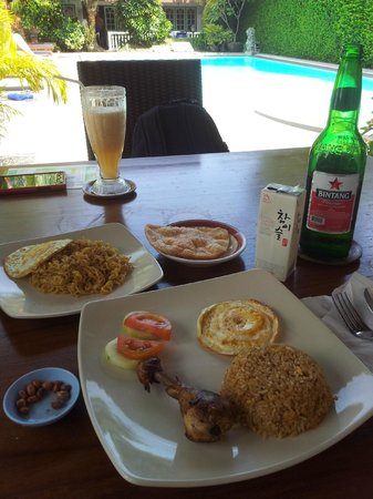Tulips Hotel & Restaurant: lunch