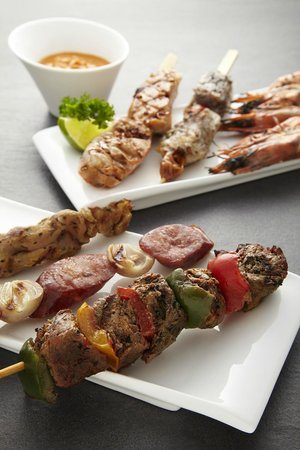 Halo Rooftop Lounge: Grilled tapas to complement beers and cocktails