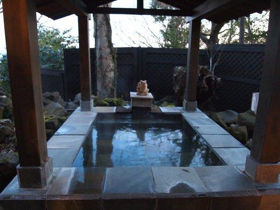 Anda Resort Izukogen : 貸切露天風呂
