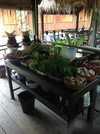 Tamarind Cooking Courses: Fresh ingredients!
