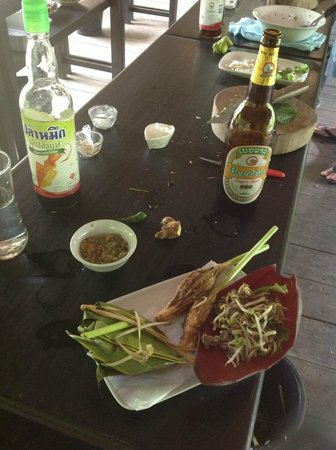 Tamarind Cooking Courses: Some of the dishes after preparation