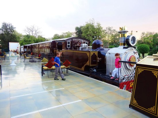 Rambagh Palace: Dinner Train