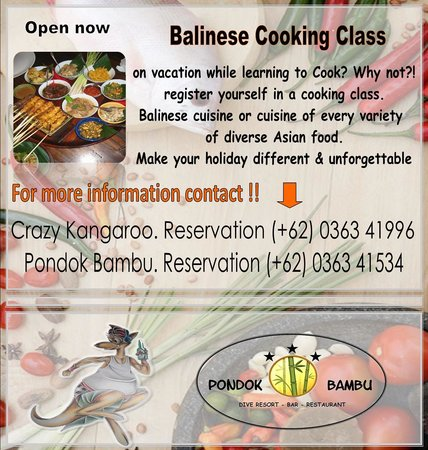 Pondok Bambu : cooking class