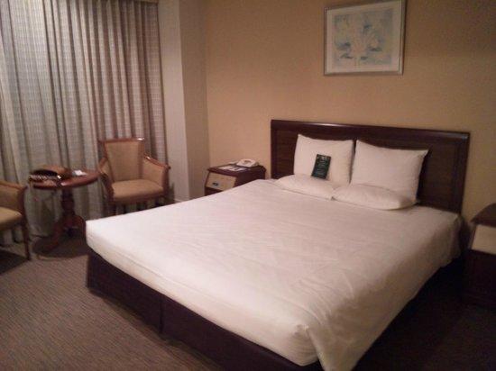 Narita Gateway Hotel: ダブルベッド