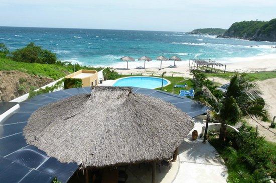 Manta Raya Hotel: Una vista al paraiso todas las mañanas