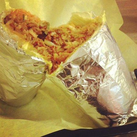 HRD: Korean kimchi burrito