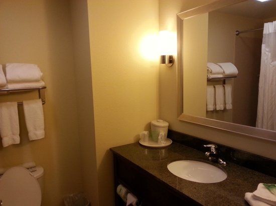 Holiday Inn Express and Suites Wytheville: Bathroom