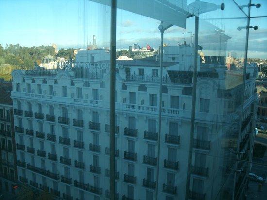 Vista do Hotel Mediodia a partir do Museu Reina Sofia