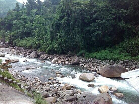 Bindu Dam: The jaldhaka river at bindu