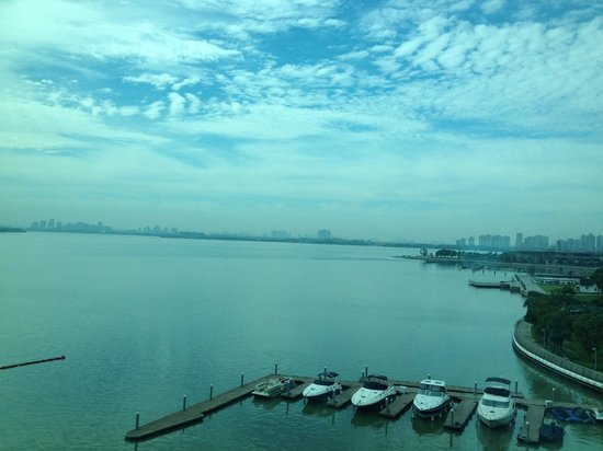 Crowne Plaza Hotel Suzhou: From the window