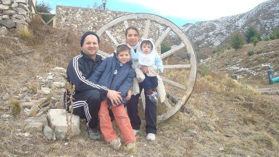 El Pinar en La Ventana: Afuera de las cabañas