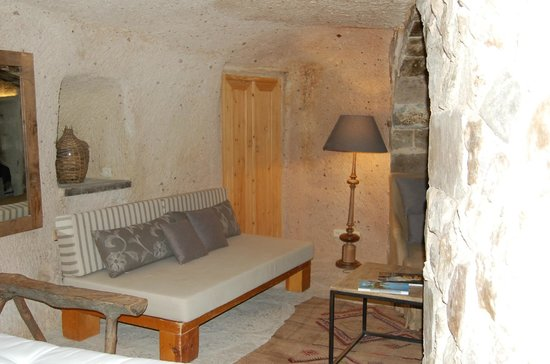 Argos In Cappadocia: Cave suite
