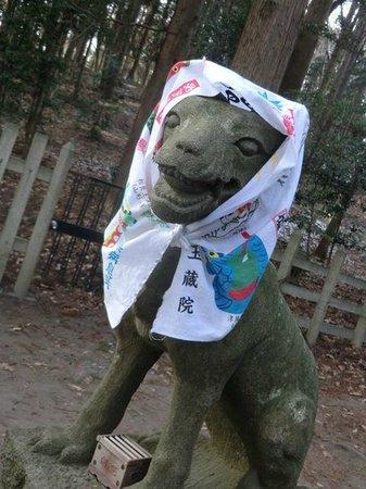 宝登山神社, 寒い2月、信者さんたちの心配り