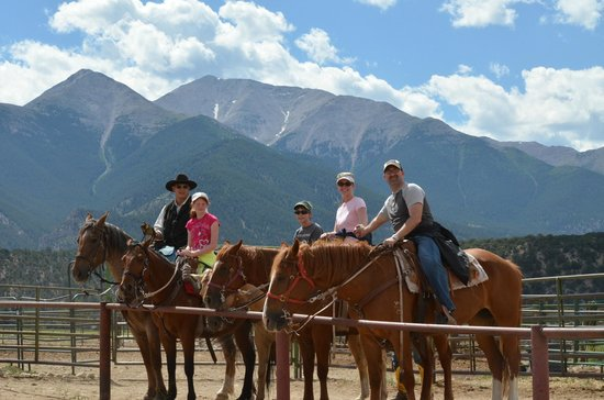 Mt Princeton Riding Stables & Equestrian Center : End of the ride
