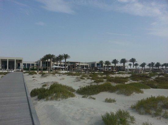 Monte Carlo Beach Club: view from beach