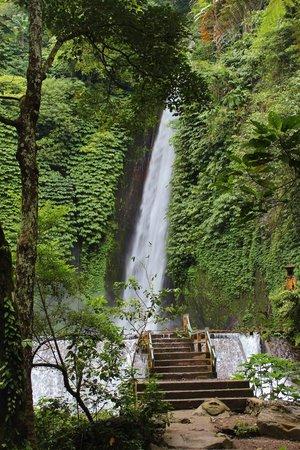 Melanting Cottages & Restaurant : Waterfall near Melanting Cottages