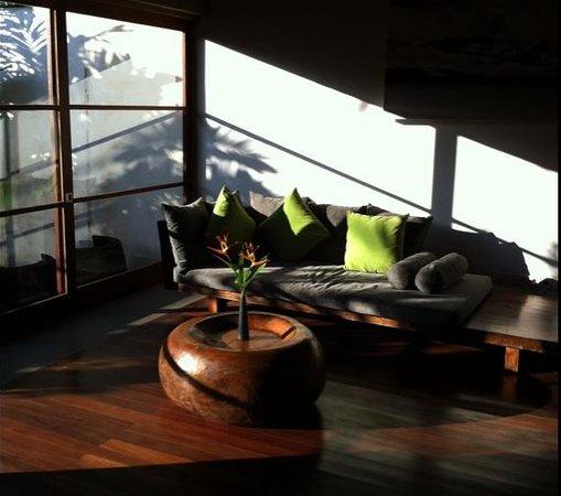Luwak Ubud Villas: Living room