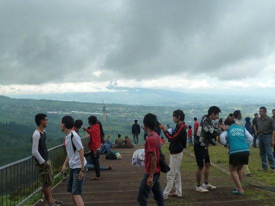 Paragliding Bukit Gantole, Puncak