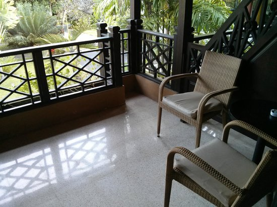 ‪‪Kind Villa Bintang Resort & Spa‬: Balcony‬