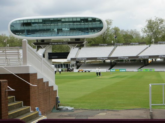 Lord's Cricket Ground: The pitch
