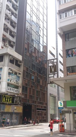 Wanchai 88 Hotel: Hotel at street level