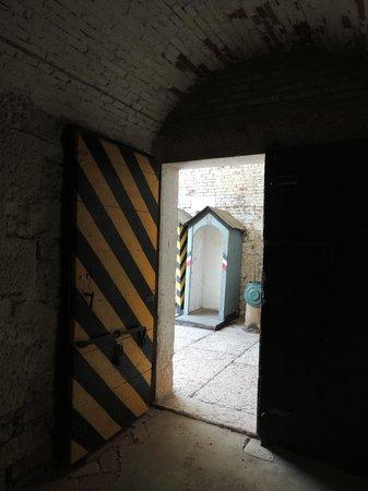 Forte Ardietti, Peschiera del Garda: Forte Ardietti: Entrance