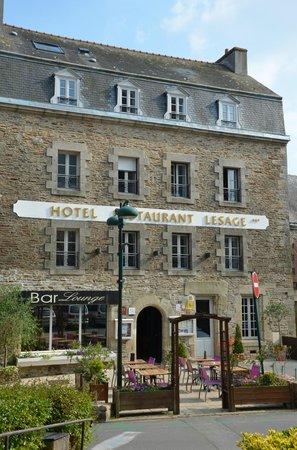 Sarzeau, France: facade principale