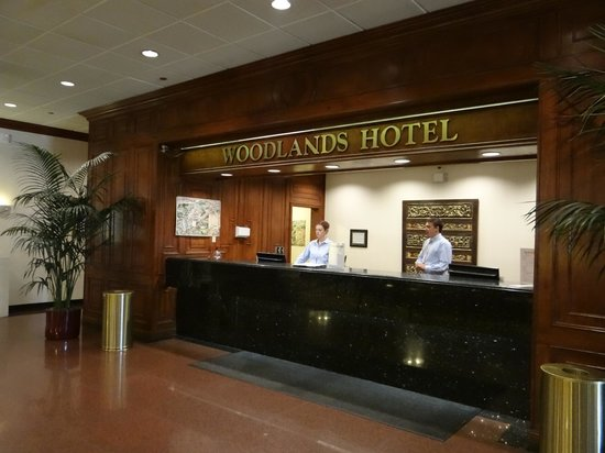 DoubleTree by Hilton Hotel Flagstaff : Friendly front desk staff