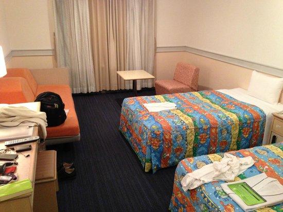 Centurion Hotel Okinawa Churaumi: 客室