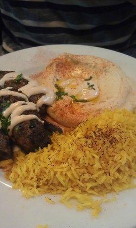 Oren's Hummus Shop: kebab