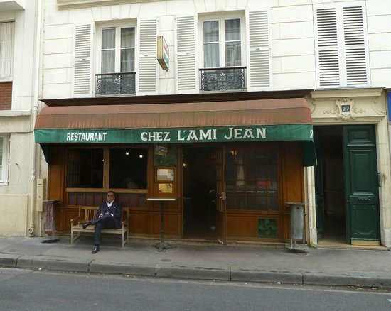 L'Ami Jean: Front of building