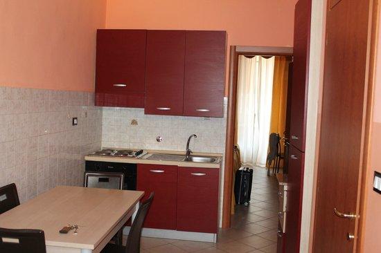Residence Valdocco: cucina
