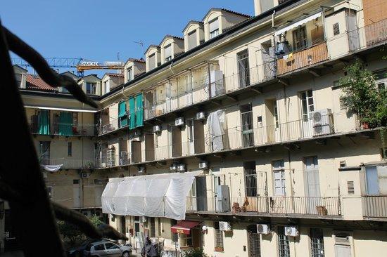 Residence Valdocco: cortile interno