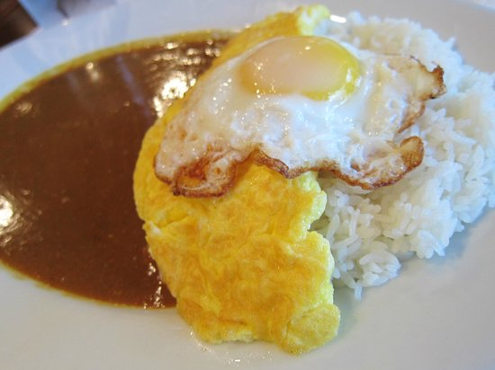 Muracci's Japanese Curry and Grill: omelet curry rice