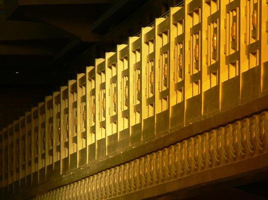 Musée La Piscine : soleil sur la Piscine
