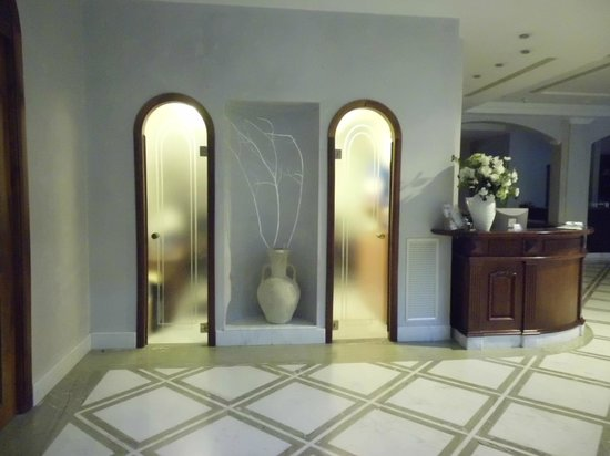 Sant'Angelo Resort & Spa: Inkom gedeelte van het hotel.