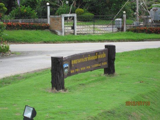 Doi Pha Hom Pok National Park: 公園名称