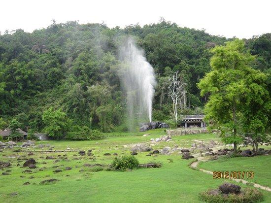 Doi Pha Hom Pok National Park: 間欠泉